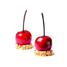 Pavoni Pavoflex Silicone Tutti Frutti 3D Mold, Cherry/Peach, 58mm x 53mm x 46mm