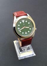 Seiko 5 Genuine Leather Strap Wristwatches