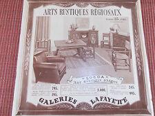 catalogue meubles Galeries Lafayette année 1939  (réf 26)