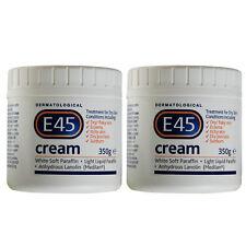 E45 Dermatological Cream for dry skin- 350g  Pack of 2