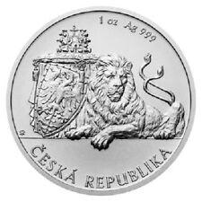 Niue 2 Dollar 2018 Tschechischer Löwe 1 Oz Silber ST in Kapsel