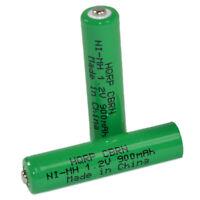 HQRP Two Batteries for Panasonic KX-TGA931T KX-TGA935B
