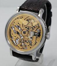 Custom watch Skeleton Aviator based on 1907 Vacheron Constantin movement