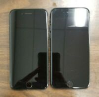 Lot of 2 - Apple iPhone 7 - Black 32GB - A1778 - FOR PARTS
