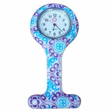 Dames silicone zuster verpleegster horloge, multicolor nieuw