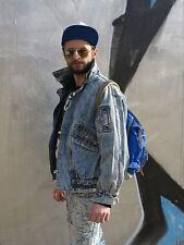 FIRST LINE stonewash Jeansjacke Jacke 90er True VINTAGE 90s men jeans jacket