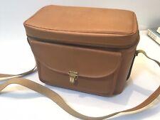 Tan Colour Camera Video Case Bag