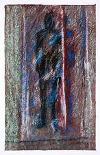 Gerhard Elsner 1930 Senftenberg-2017: Figur und Schatten, Pastell, 1996