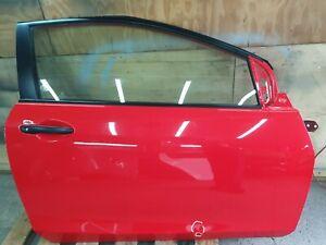 Mazda 2 3DR 2007-2012 Complete Driver Side Front Door Red