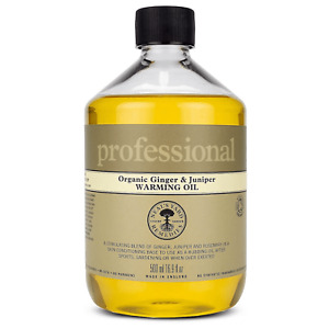 Neal's Yard Remedies Professional Organic Ginger and Juniper Warming Oil 500ml