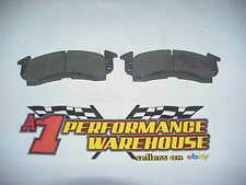2 NEW Hawk HB 103 Burnished Racing Brake Pads for 1 Big GM Caliper