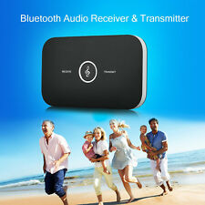 2in1 Wireless Bluetooth Transmitter and Receiver APTX 3.5mm Audio Player Adapter
