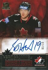 (HCW) 2012-13 The Cup Programme of Excellence SCOTT HARTNELL 3/10 Auto Signature