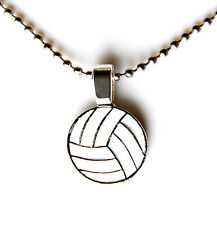 Volleyball Pendant with Adjustable Chain - Necklace - Women's Jewelry - Gift Box