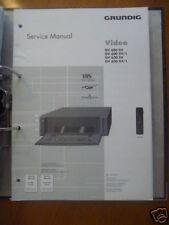 Service-Manual Grundig Gv 600/630 Video Recorder, ORIGIN