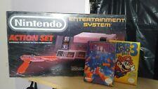 Nintendo Nes Console System Super Mario Bros 3 Original OEM Complete with extra.