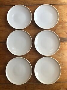 6 Bread Cake Plates Paul McCobb Contempri Modernist Mid-Century