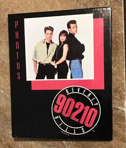VINTAGE 1991 90210 PHOTO ALBUM Brenda Brandon Dylan Made In USA Ring Binder