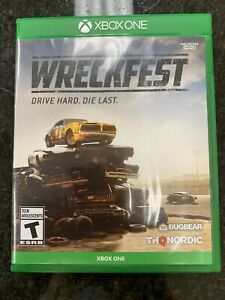 THQ Nordic Wreckfest Xbox One - Good condition