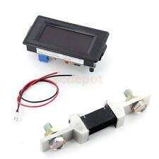 AC/DC12V~260V 200A Digital LED Voltmeter Ammeter Amp Volt Battery Meter w/ Shunt
