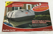 Rubbermaid Rooftop Carrier 13.5 Cubic Feet of Space Gray and Black