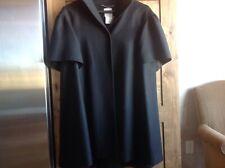 Moschino Black Cap Sleeve Jacket/Coat