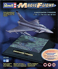 REVELL 1:144 KIT MAGIC FLIGHT EUROFIGHTER TYPHOON LEVITAZIONE MAGNETIC ART 09102