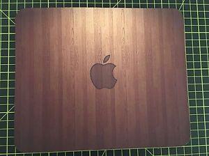 APPLE Wood effect print MOUSEMAT MOUSE MAT PAD compatible with Mac iMac MacBook