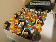 Rubber Ducks 25 NEW Bath Toys Float For Goody Bag size small 5cms some repeats