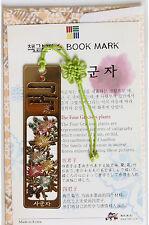 Traditional Korean reader Metal Bookmark -  chrysanthemum