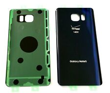 "Original OEM Battery Back Cover Samsung Galaxy Note 5 Verizon N920V  ""BLACK"" ~US"