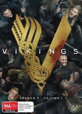 Vikings : Season 5 : Part 1 (DVD, 2018, 3-Disc Set) Brand New Sealed Region 4