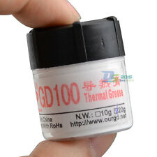 20g White Compound Thermal Conductive Grease Paste For CPU PC Heat Sink Bottle