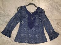 Pretty Angel top with sparkle  Large