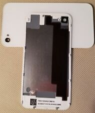 NEW Battery Cover Back Door Glass Rear Case for iPhone 4G CDMA A1349 - WHITE