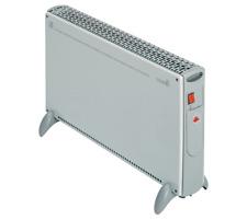 Termoconvettore Caldorè Vortice 800/1200/2000W Riscaldamento 70201
