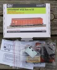 Aperto carri merci EAS-U 52 con carico carbone epoca IV - 1:120 TT