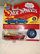 "Hot Wheels Vintage Collection Series 2  #10495 ""DEORA""  - Red   (A)"