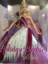 2005 Holiday Barbie by Bob Mackie In Box Mattel