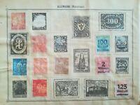 lot N°230 - 10  timbres Allemagne à décoller