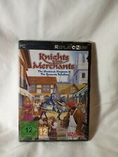 Knights and Merchants Shattered Kingdom EUROPEAN PC EDITION RARE 2012 NEW