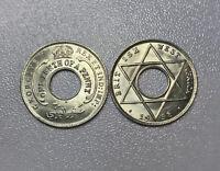 British West Africa 1938 H 1/10 Cent KM#20 CHBU! $40 Catalog in UNC