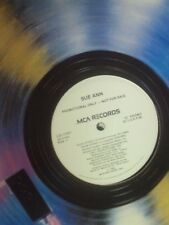 "SUE ANN Rock Steady 12"" OOP late-80's pop-R&B white-label promo"