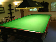 George Wright & Co Antique Mahogany Snooker Table - Full Size (12ft)