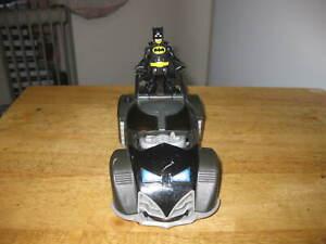 IMAGINEXT BATMOBILE TOY CAR WITH BATMAN FIGURE