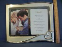 LENOX Forevermore Silverplate 12 X10 wedding picture frame NIB