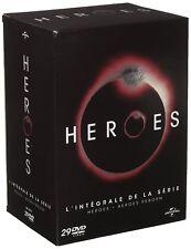 HEROES, coffret intégrale (4 saisons + reborn) NEUF - 29 DVD