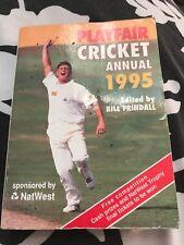 2 X Vintage Playfair Cricket Annuals 1995 & 2001