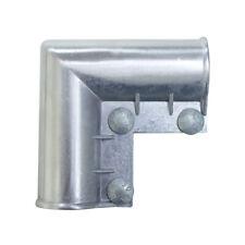 YardGard  1.63 in. L Galvanized  Aluminum  Gate Ell  1 pk