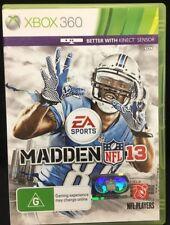 XBox 360 Game Madden NFL 13